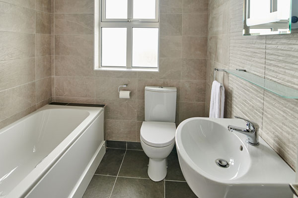 Bathroom at Armada Self Catering Cottages Spanish Point West Clare