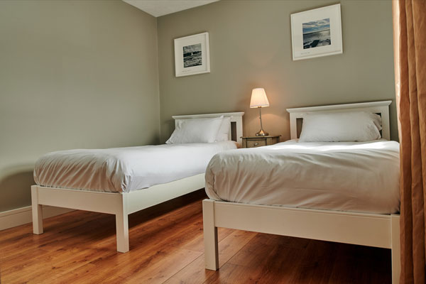 Twin room at Armada Cottages Self Catering