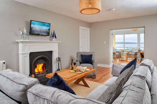 Sitting Room at Armada Cottages Spanish Point County Clare