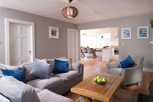 Lounge at Armada Self Catering Cottages Spanish Point West Clare